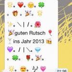 Silvesterspruch Whatsapp