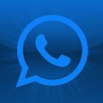 Whatsapp Logo Blau